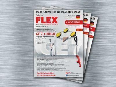 Akciós FLEX terméklap