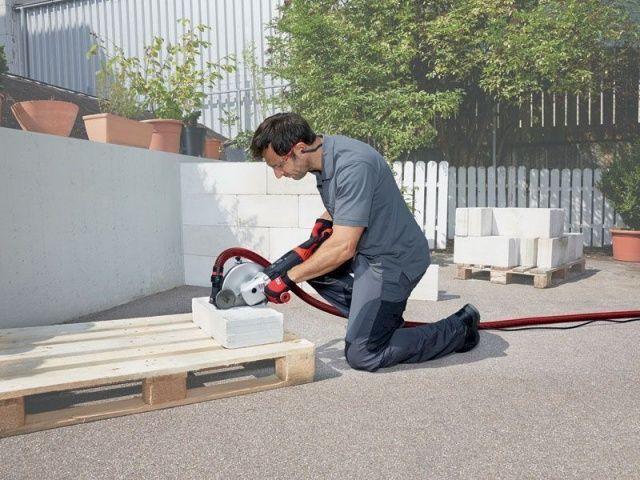 Kő és betoncsiszolás / Vágás