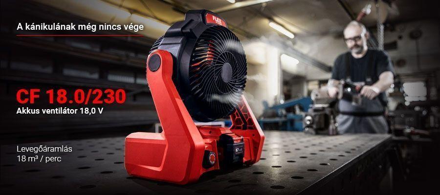 CF 18.0/230 - Akkus ventilátor
